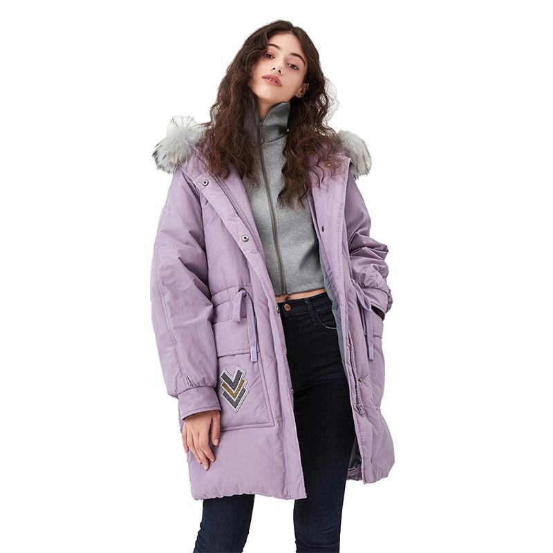 浪漫粉紫色棉感记忆面料