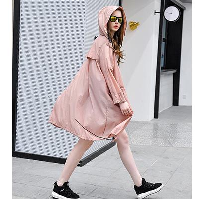 粉色系防晒衣面料