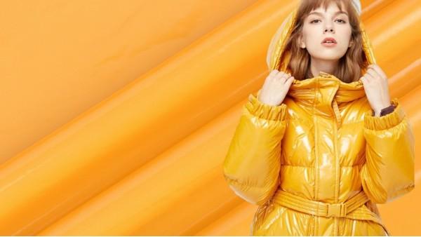 冬天新的打开方式|时尚亮皮膜羽绒服面料