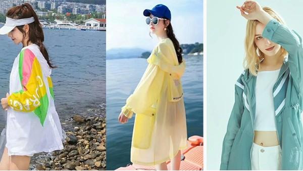 防晒衣流行趋势:轻薄有褶皱