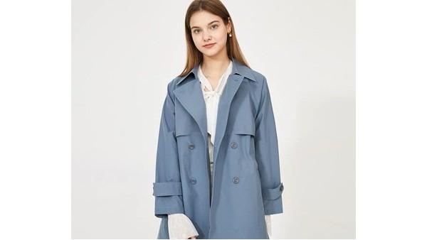 《三十而已》风衣穿搭,150D斜纹涤棉打造又飒又优雅的风衣
