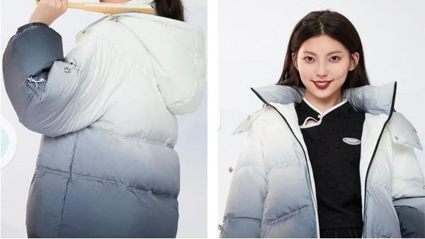 还在纠结冬天面料怎么选,这件羽绒服给你新答案